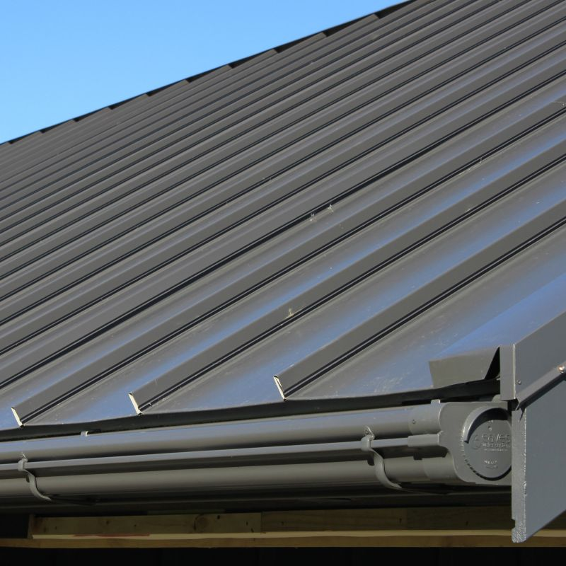 NZ COLORSTEEL® Roof and Gutters in Grey Friars