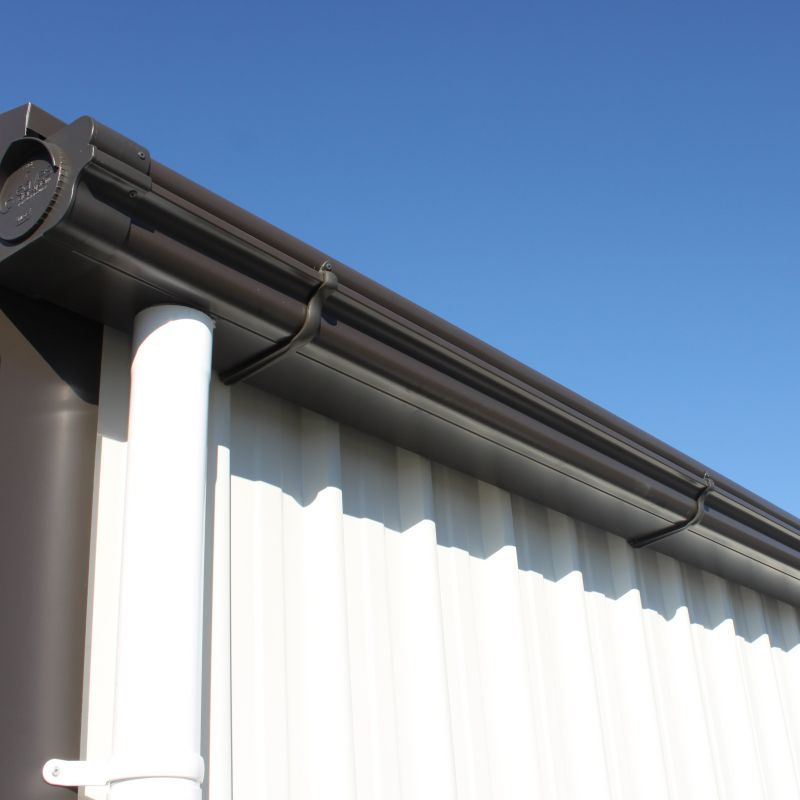 Rural Water Harvesting downpipes